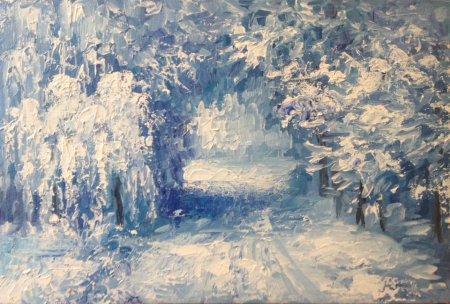 Зимний вернисаж в Протвино