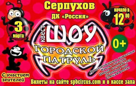 """Квест шоу """"Городской патруль"""""""
